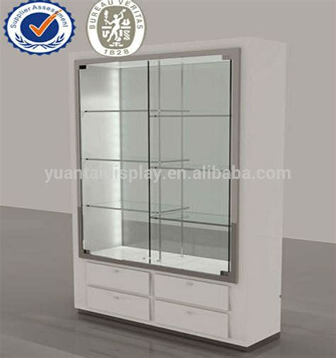 glass display with glass door 2014 brand wooden glass display cabinets commercial glass