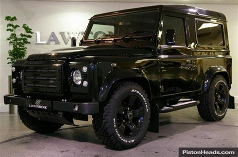 land rover defender black overfinch black defender alloys oh you fancy huh