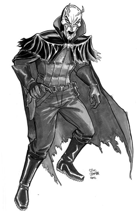 modern drawing of spring heeled jack by kain white spring heeled jack craig cermak design by roygbiv666 on