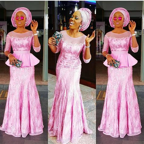 latest weavon styles for asoebi celebrities photos nigerian aso ebi styles the latest