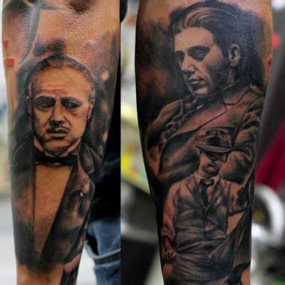 godfather tattoo the godfather realistic black and grey