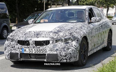 bmw 3 series g20 spied g20 bmw 3 series shows production lights