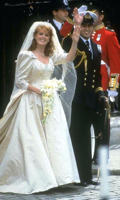 Royal Wedding A Glance Back At The Royal Wedding Dresses by Ferguson And Prince Andrew Royal Wedding Photos A