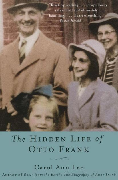 libro otto the autobiography of hidden life of otto frank by carol ann lee paperback barnes noble 174