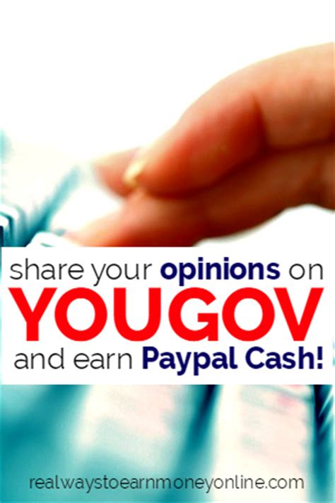 Surveys That Give You Money - make money taking surveys for yougov