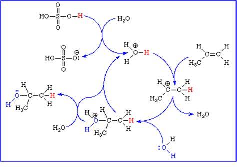 2 methylpropene hydration lon capa ochem