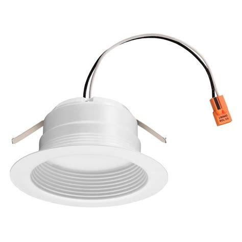 6 led recessed lighting 4000k lithonia lighting 6 in matte black recessed gimbal led