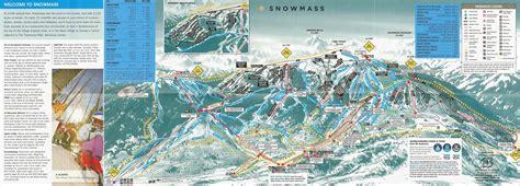 snowmass trail map snowmass skimap org
