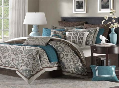 turquoise and brown bedroom ideas best paint color combinations with grey carpet home ideas