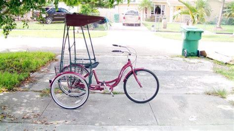 bike awning l k 3 wheel schwinn meridian adult trike canopy