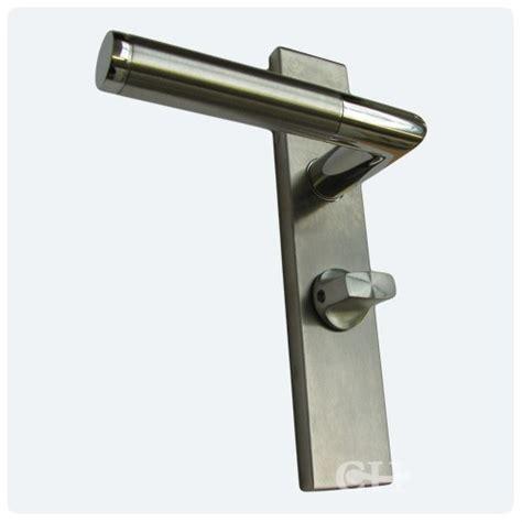 Lever On Backplate Door Handles by Karcher Design Elq34 Steel Door Handles On Backplate