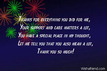 thank you letter to a caring friend thank you messages