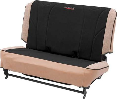 mastercraft jeep seats mastercraft slip fit rear seat cover for 65 95 jeep 174 cj 5