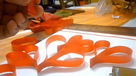 vomo hacer flores en cinta de agua arbol decorativo hecho con cinta de agua youtube