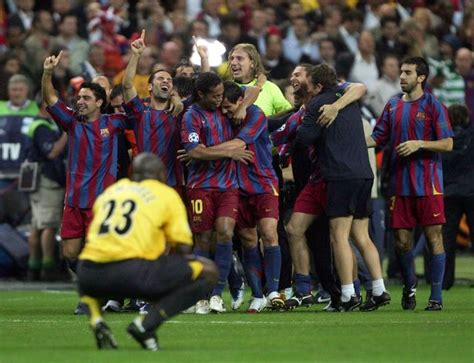 Arsenal Barcelona 2006 | thierry henry explains how arsenal can beat barcelona at