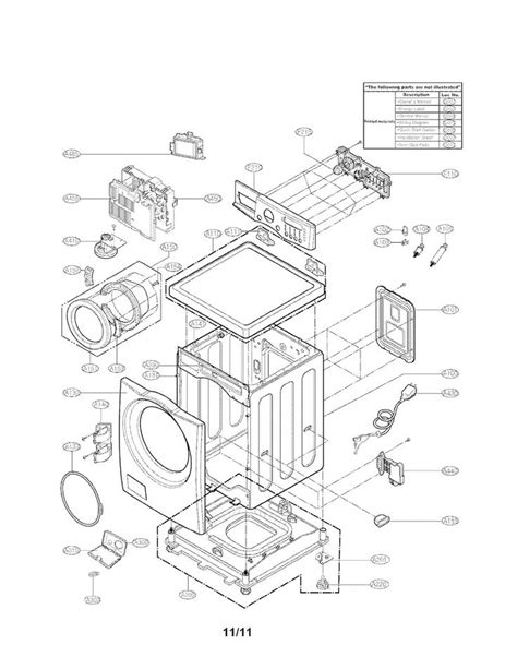 lg washer parts diagram 23 wiring diagram images