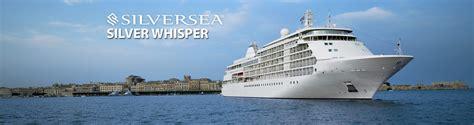 silversea cruises destinations silversea s silver whisper cruise ship 2019 and 2020