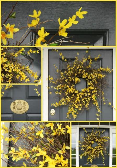 forsythia wreath tutorial forsythia wreath wreaths and easy forsythia wreath tutorial