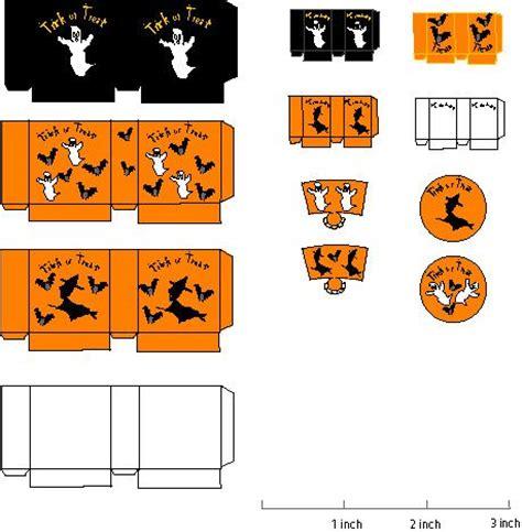 printable halloween bag decorations halloween bags treat bags and dollhouses on pinterest