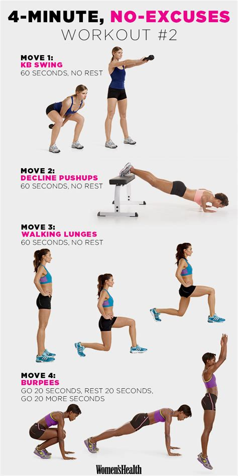 exercises in style new fire up your metabolism with these 4 minute workouts workout plank and no excuses