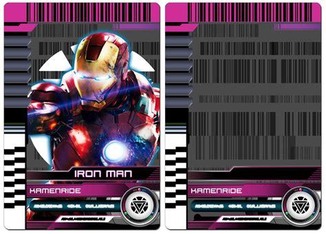 kamen rider decade rider card template by tri edge arts