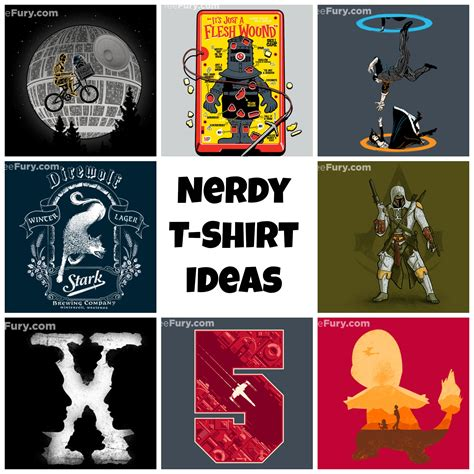 nerdy gifts nerdy t shirt gift ideas for the in your