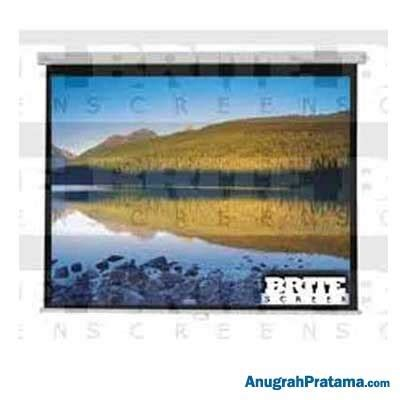 Screen Projector Manual 96 Inci brite manual screen mas2424 96 inch 244x244 cm layar