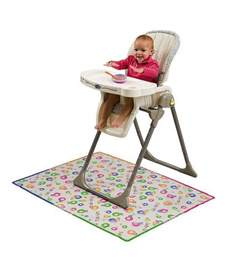mommys helper splat mat plastic cover baby high chair mess