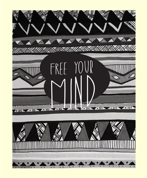 wallpaper free your mind tribal print background for twitter www imgkid com the