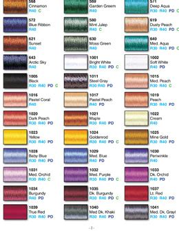 sulky embroidery thread color conversion chart thread charts sulky com
