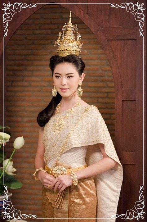 Dress Thaigirl 164 best traditional thai attire images on