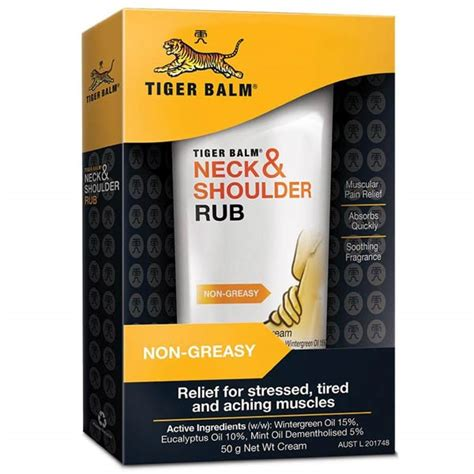 Tiger Balm Asli Neck Shoulder Rub tiger balm neck shoulder rub eureka4schools