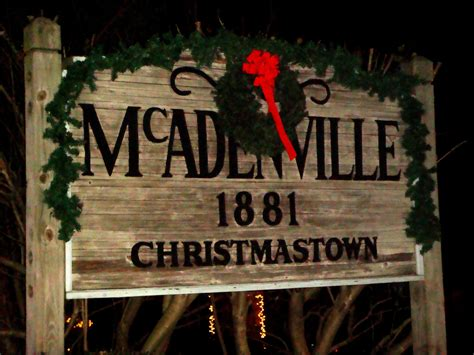 christmas town in north carolina is an ideal place for mcadenville allthingscarolina