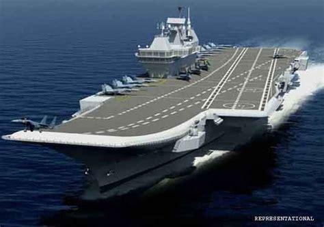 nuove portaerei americane hi tech made in usa per la nuova portaerei indiana