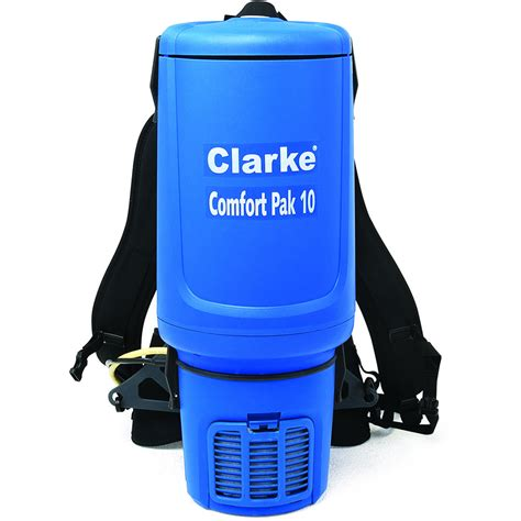 Upholstery Cleaning Equipment Clarke 10 Quart Back Pack Vacuum Cleaner With Tool Kit
