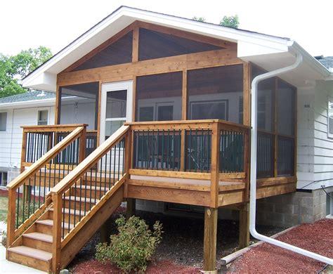small decks fronts porches front decks http