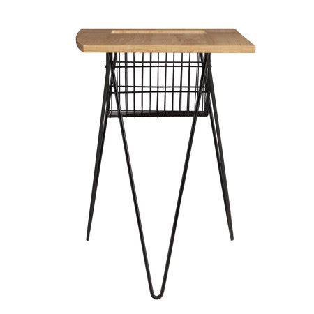southern enterprises magazine snack table southern enterprises nerridian magazine snack table black