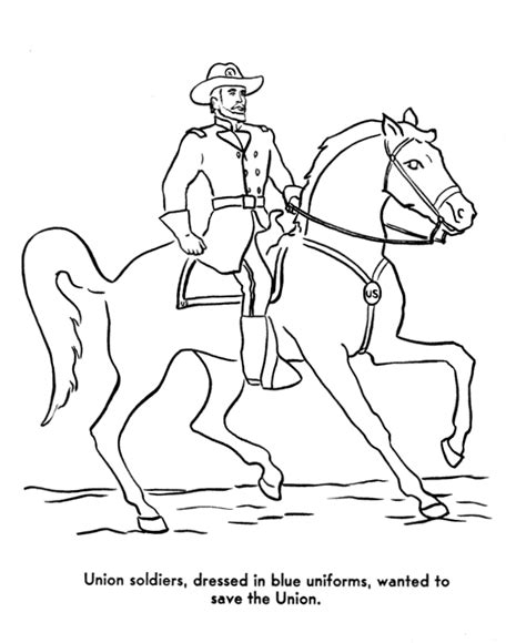 usa printables america civil war coloring pages abraham