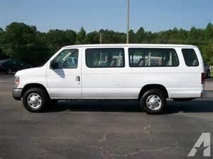 2011 ford e350 15 passenger xlt duty for sale