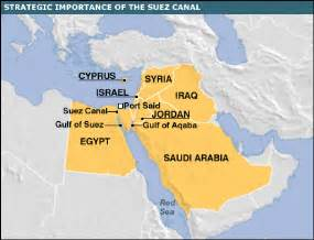 Suez Canal In World Map by Gallery For Gt Suez Canal World Map