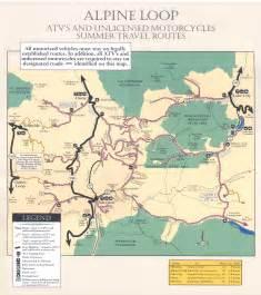 alpine loop colorado map telluride area july 20 25ish page 2 american