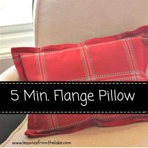 How Much Do Pillows Cost by 5 Minute Flanged Pillow Tutorial Hometalk
