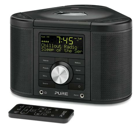 chronos cd series 2 dab fm alarm clock radio cd player hifi 759454812706 ebay