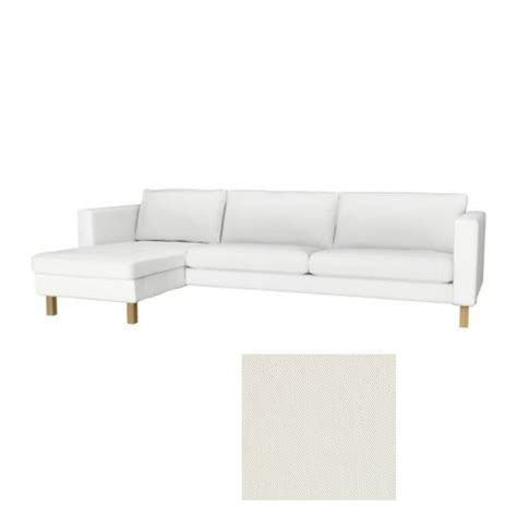 ikea couch with chaise ikea karlstad 3 seat sofa and chaise slipcover cover