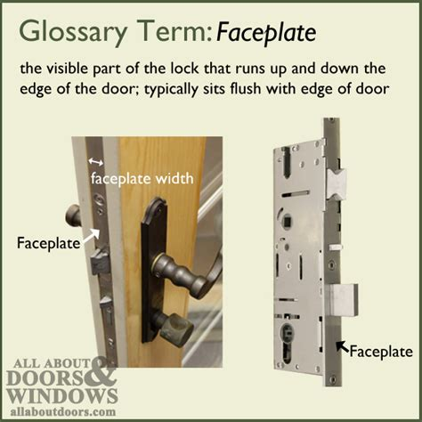 sliding door parts faceplate repair how to replace a door handle door latch door