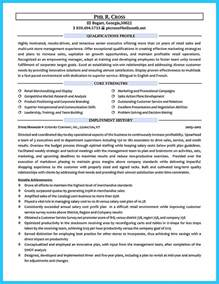crafting a great assistant store manager resume retail manager cv template resume exles job description