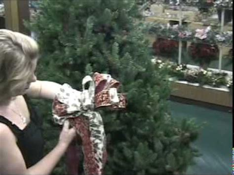 how to make bow tree topper a ribbon handmade tree topper bow at keen s