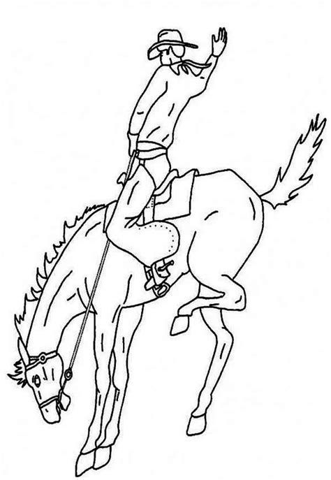 coloring pages of bucking horses 40 best images about color horses rodeo on pinterest