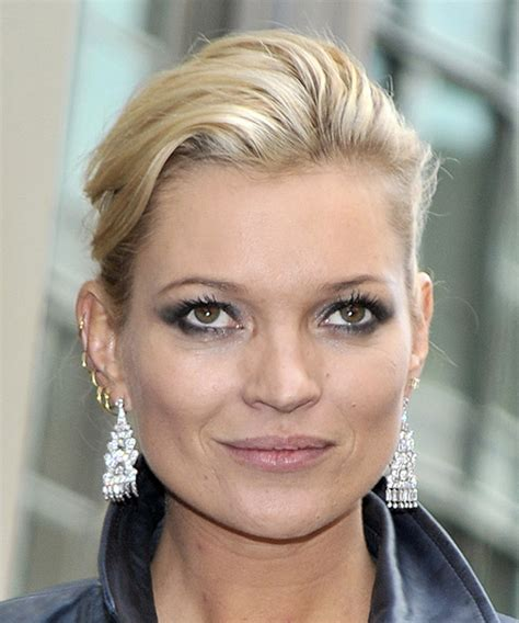 casual updo hairstyles front n back kate moss updo long straight casual updo hairstyle