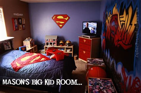 superman bedroom mason s superman room makeover superman room superman
